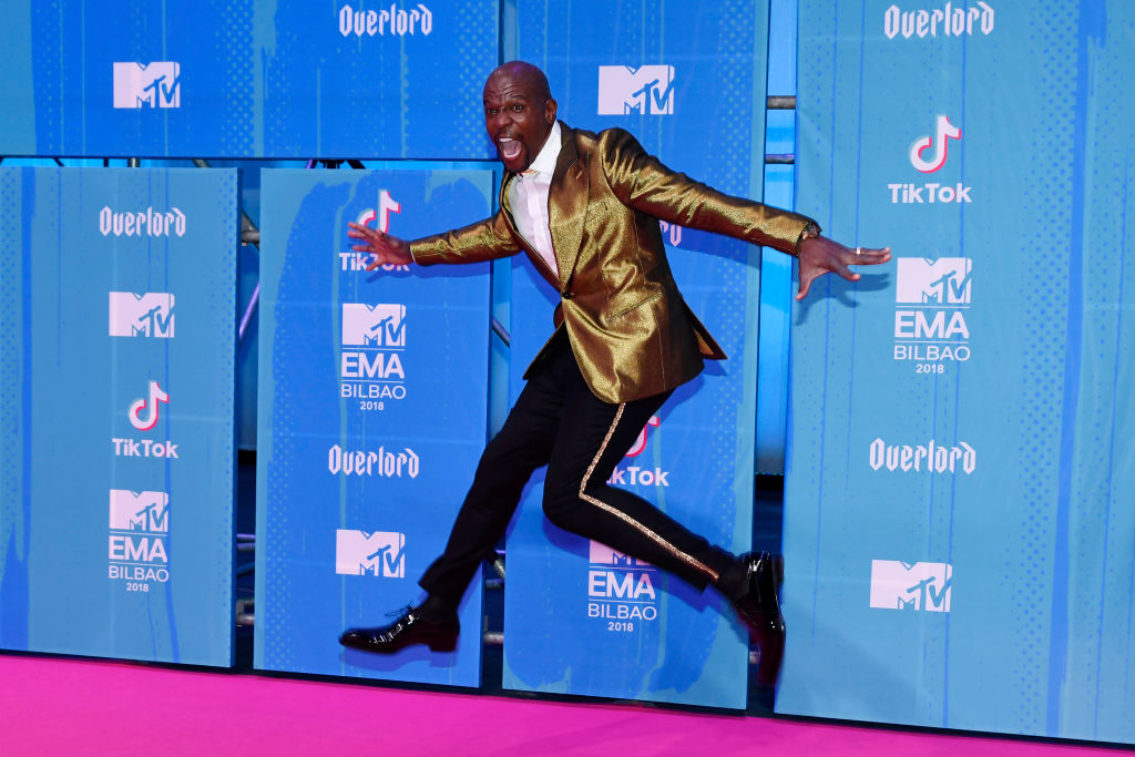 Terry Crews attends the MTV EMAs 2018 at Bilbao Exhibition Centre on November 4, 2018 in Bilbao, Spain.