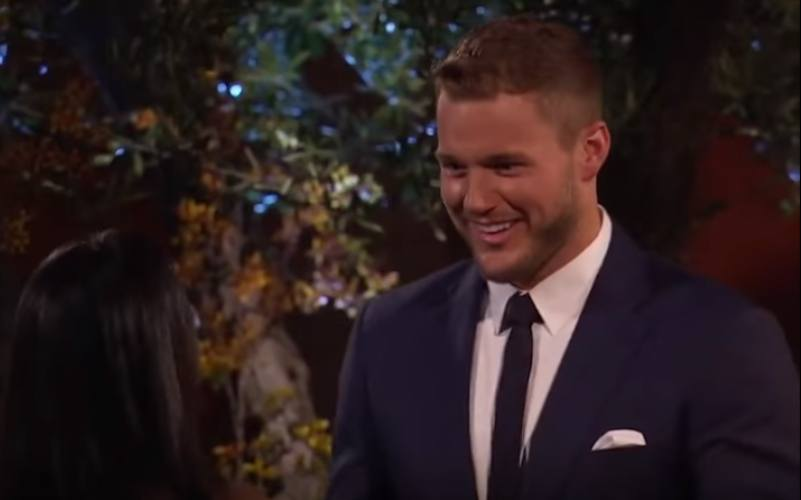 Colton Underwood on The Bachelor