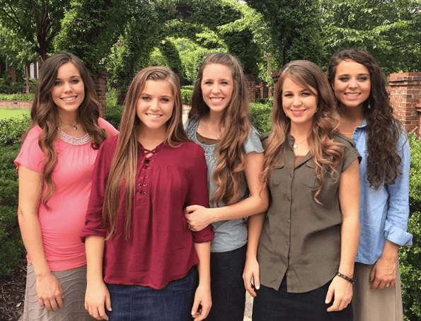 The Duggar daughters