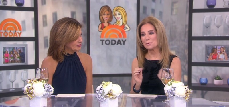 Kathie Lee Gifford and Hoda Kotb in Today