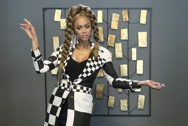 Tyra Banks reprises her iconic role of Eve