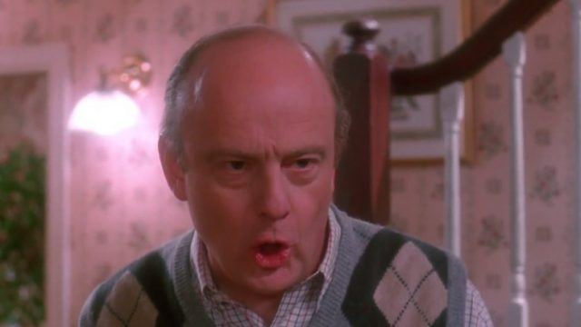 "Uncle in Frank ""Home Alone"""