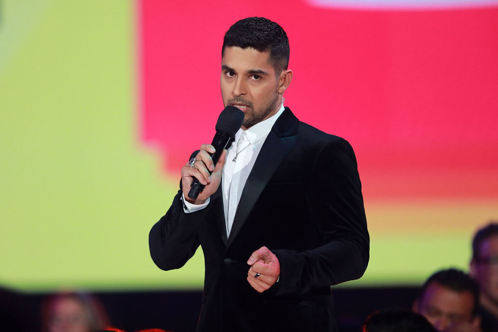 Wilmer Valderrama speaks onstage during The ALMAs 2018