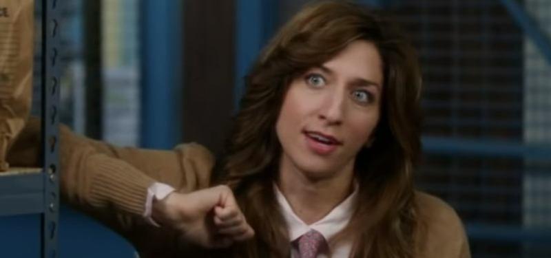 Chelsea Peretti as Gina Linetti in Brooklyn Nine-Nine