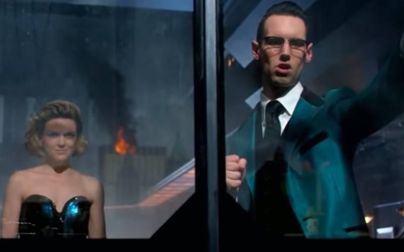 Barbara and Nygma in Gotham