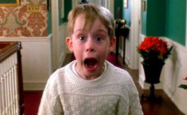 "Kevin in ""Home Alone"""
