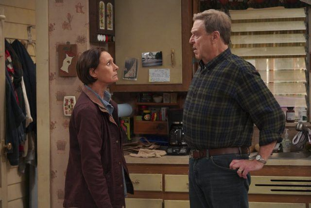 LAURIE METCALF, JOHN GOODMAN in THE CONNERS