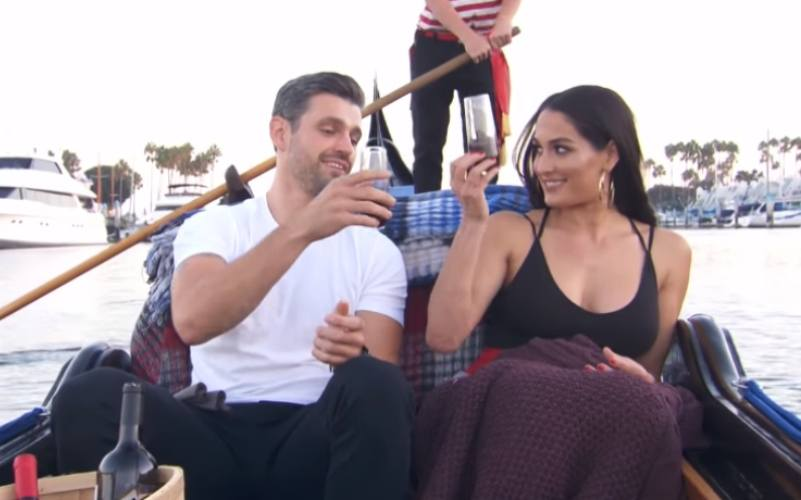 Nikki Bella and Peter Kraus in Total Bellas