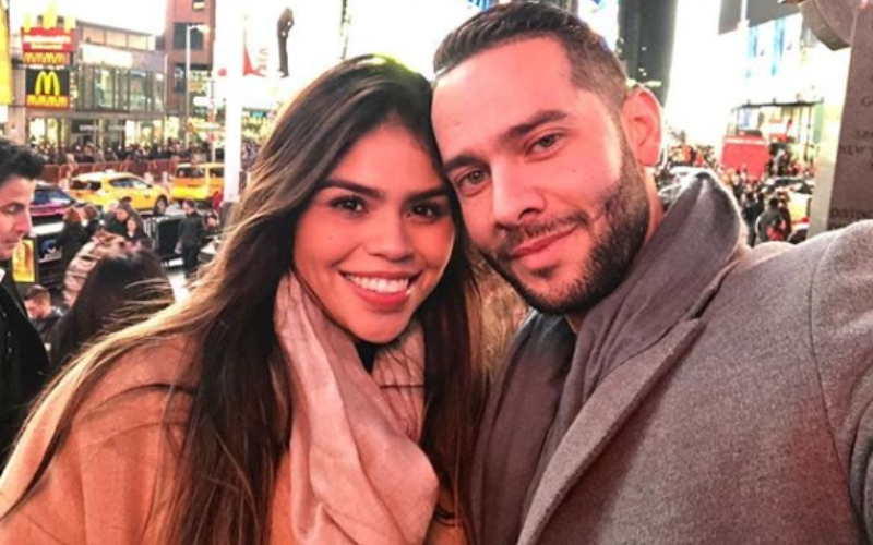 Jonathan Rivera and Fernanda Flores