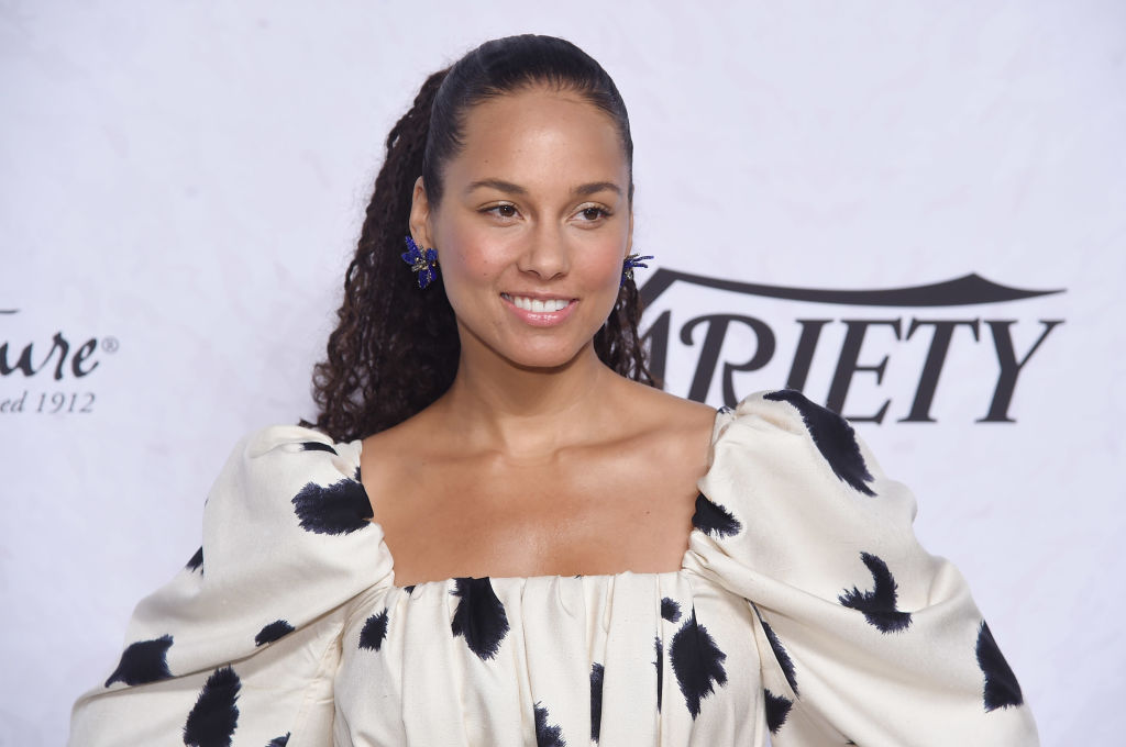 Alicia Keys attends Variety's Power of Women: New York at Cipriani Wall Street on April 13, 2018 in New York City.