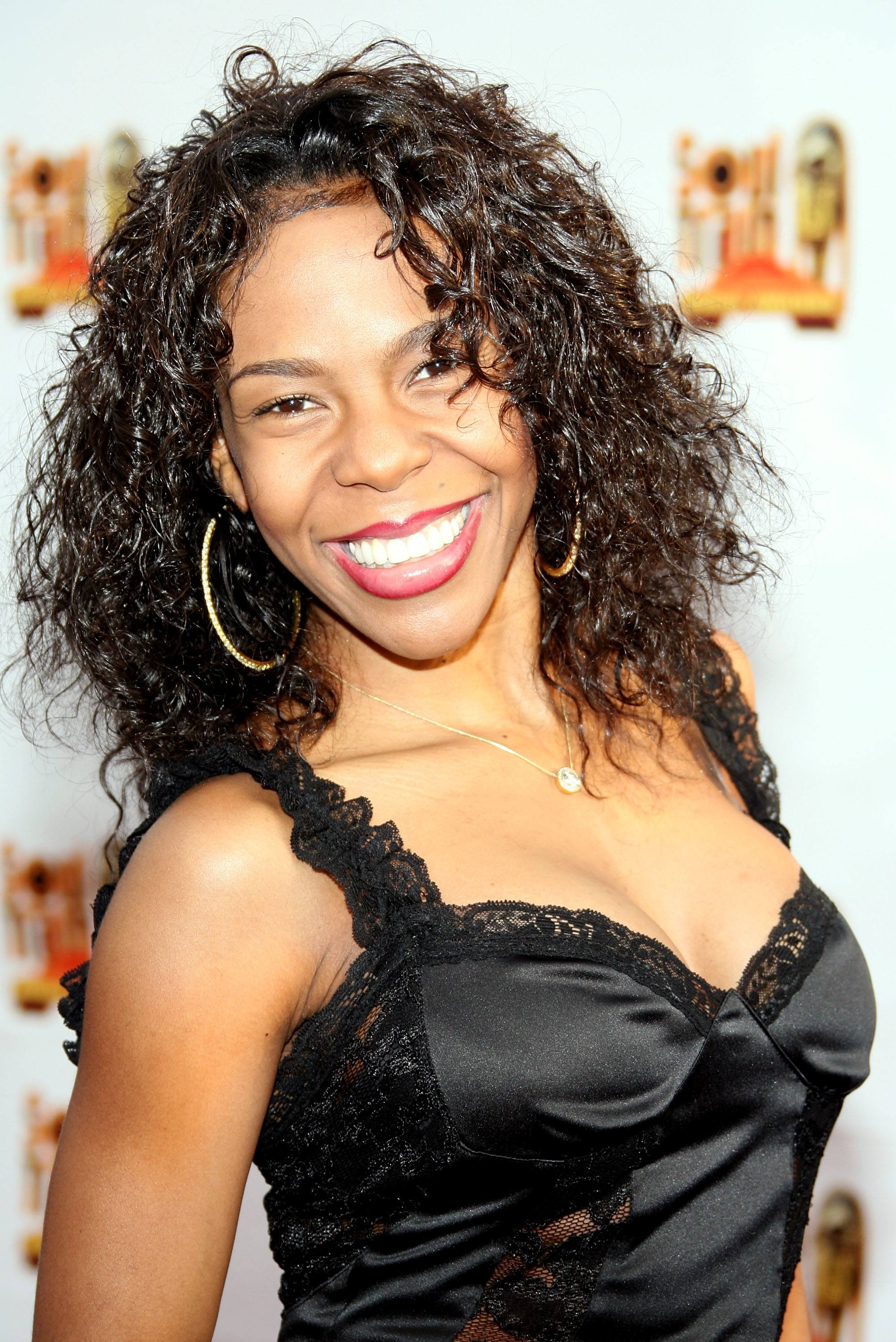Andrea Kelly arrives at the 21st Annual Soul Train Music Awards held at the Pasadena Civic Auditorium on March 10, 2007 in Pasadena, California.