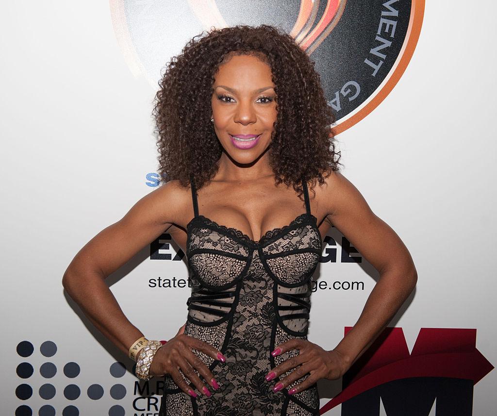 Andrea Kelly attends the 3rd Annual Georgia Entertainment Gala at Georgia World Congress Center on January 10, 2015 in Atlanta, Georgia.