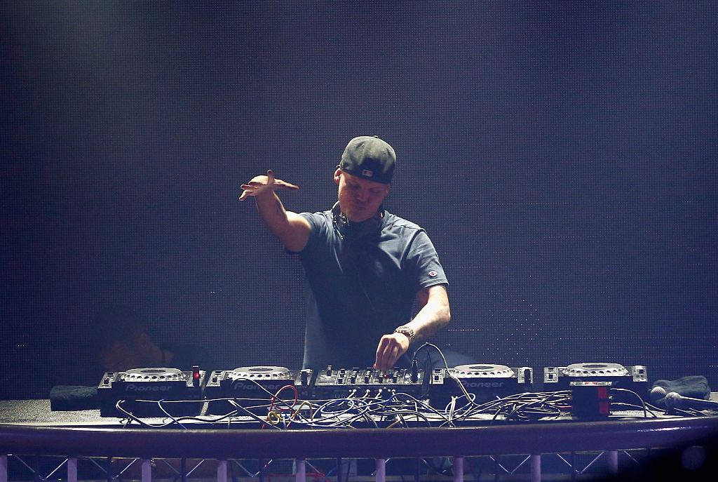 Swedish DJ Avicii performs in San Francisco in 2016.