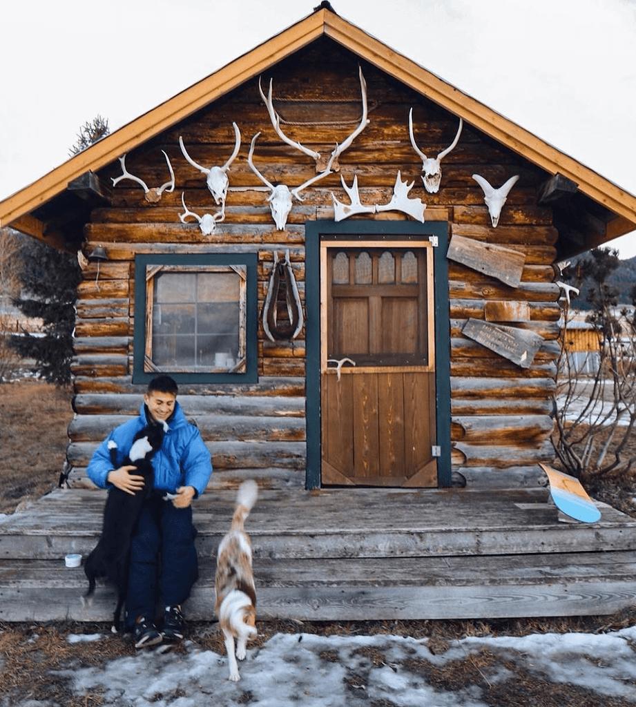 Cabin in Big Sky, Montana