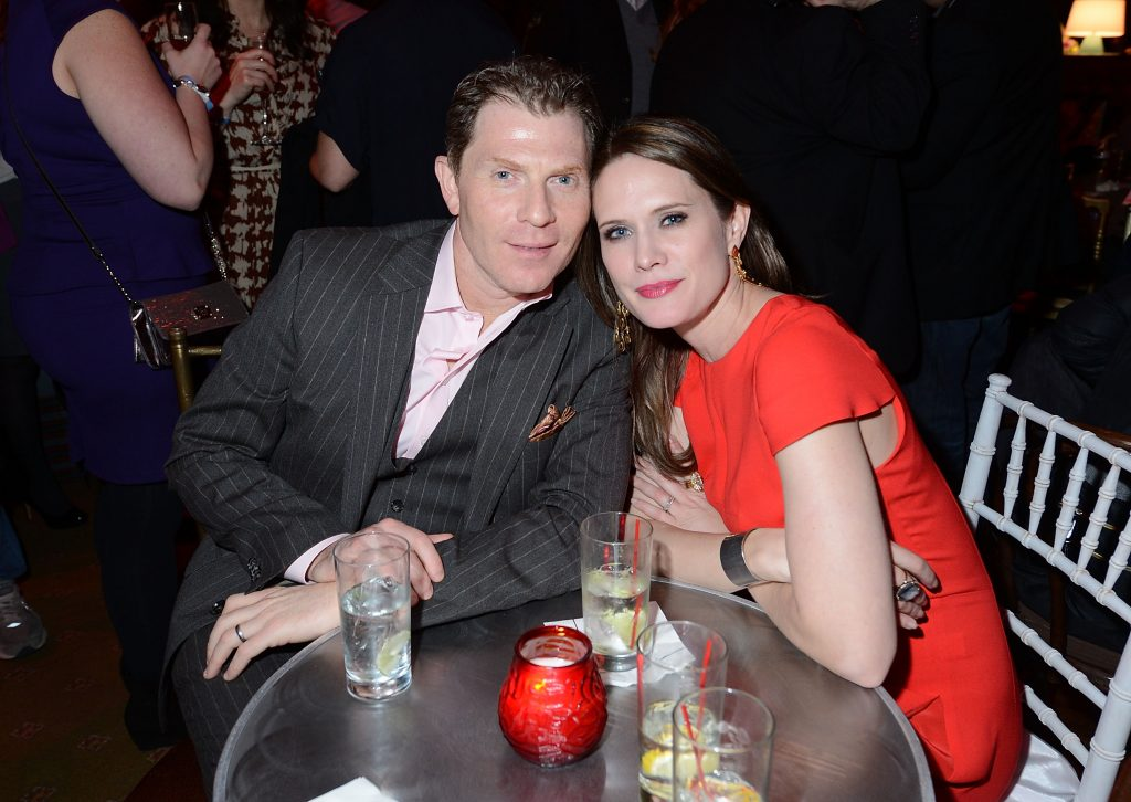 "Chef Bobby Flay and actress Stephanie March attend the ""Girls"" Season 2 After Party"