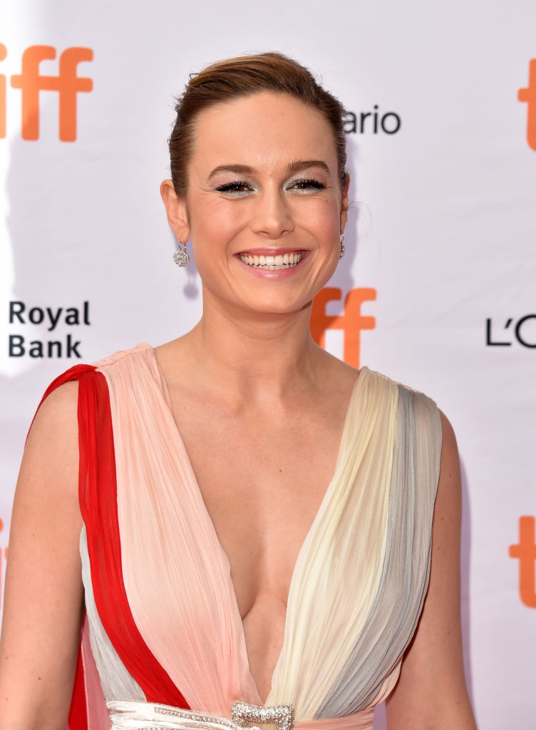 """Brie Larson attends the """"Unicorn Store"""" premiere during the 2017 Toronto International Film Festival at Ryerson Theatre on September 11, 2017 in Toronto, Canada."""