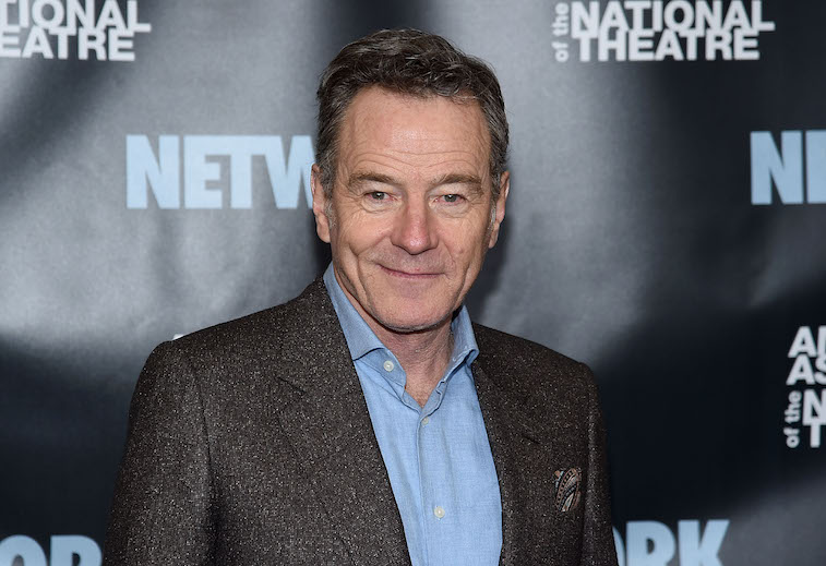 Bryan Cranston attends The American Associates Of The National Theatre Celebrate 'Network' at The Rainbow Room.