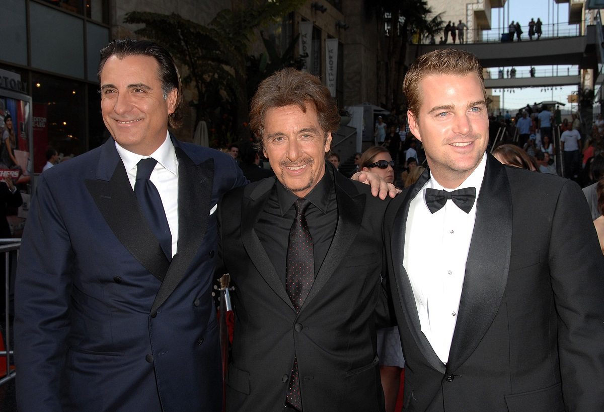 Chris O'Donnell with Al Pacino and Andy Garcia 2007