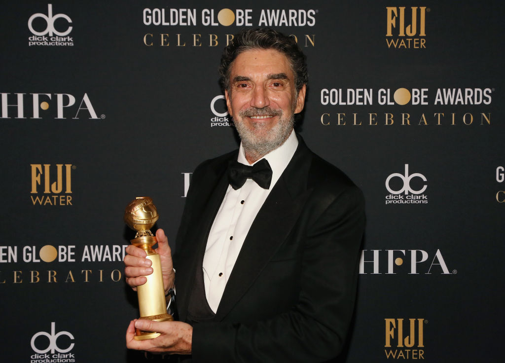 The Big Bang Theory creator and producer Chuck Lorre at the 2019 Golden Globes