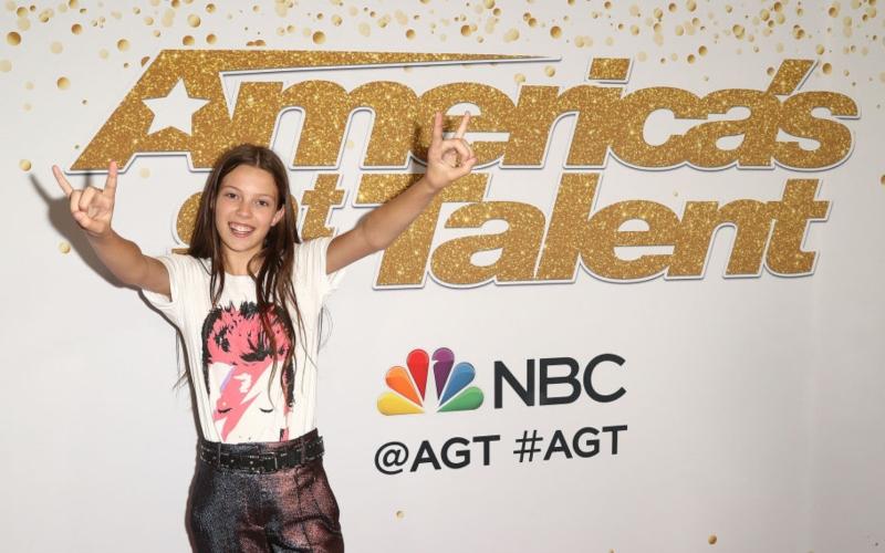 Courtney Hadwin on America's Got Talent