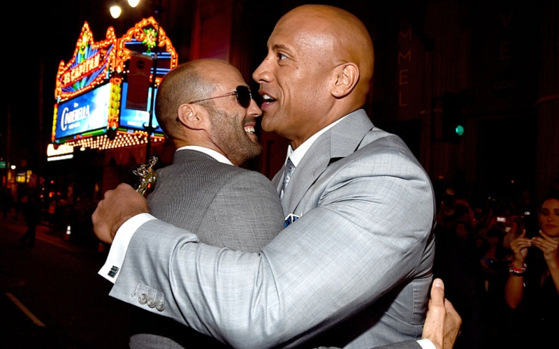 Dwayne Johnson and Jason Statham