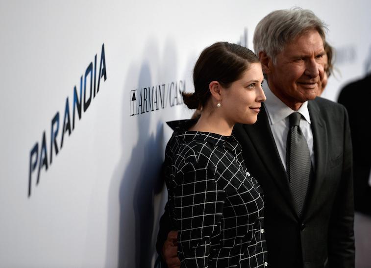 Georgia Ford and Harrison Ford