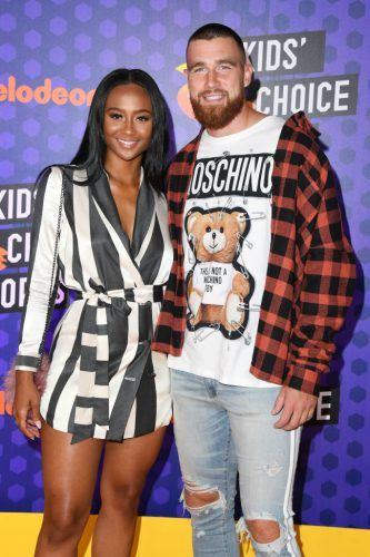 Travis Kelce and Kayla Nicole