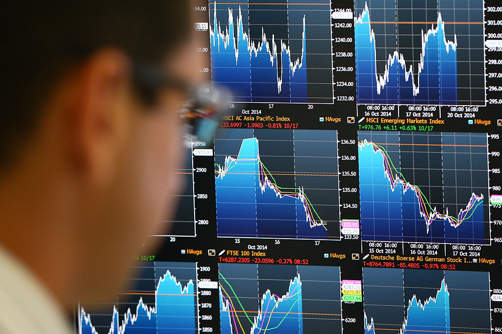 Finance technology tracks stock values