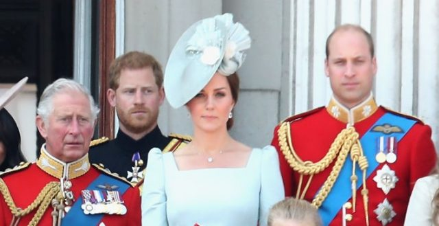 Prince Charles, Prince Harry, Kate Middleton, and Prince William