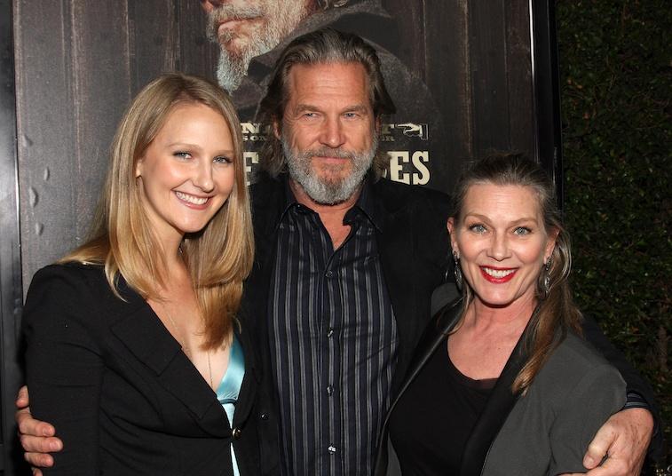 Haley Roselouise Bridges, Jeff Bridges, and Susan Bridges