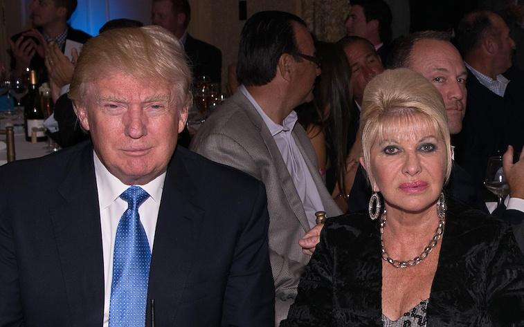 Ivana Trump and Donald Trump