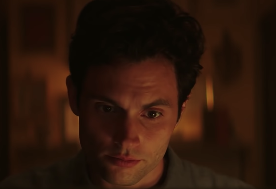 Close up of Joe in 'You'
