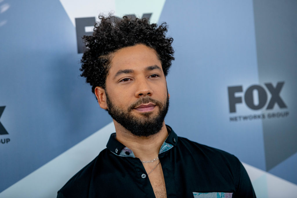 Jussie Smollett attends the 2018 Fox Network Upfront at Wollman Rink, Central Park on May 14, 2018 in New York City.