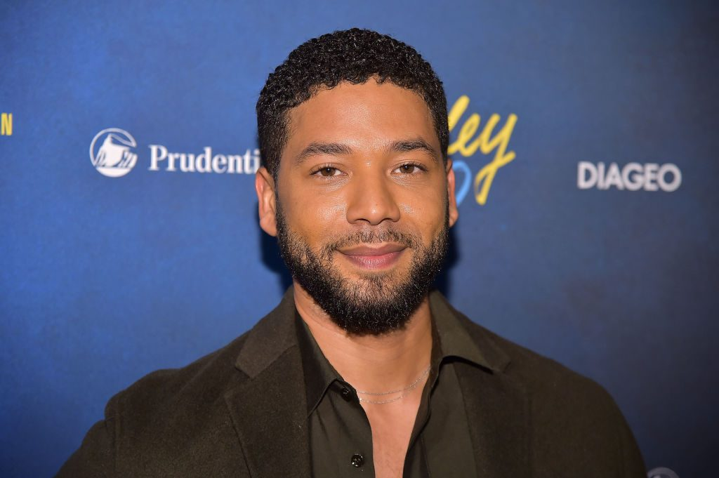 Jussie Smollett attends the Alvin Ailey American Dance Theater's 60th Anniversary Opening Night Gala Benefit at New York City Center