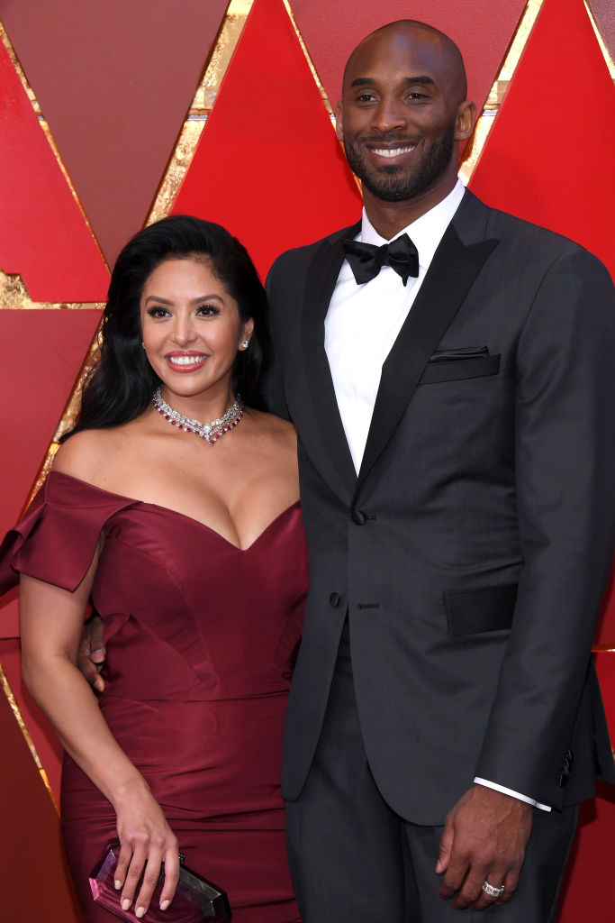Kobe Bryant and Vanessa Laine Bryant attends the 90th Annual Academy Awards at Hollywood & Highland Center on March 4, 2018 in Hollywood, California.
