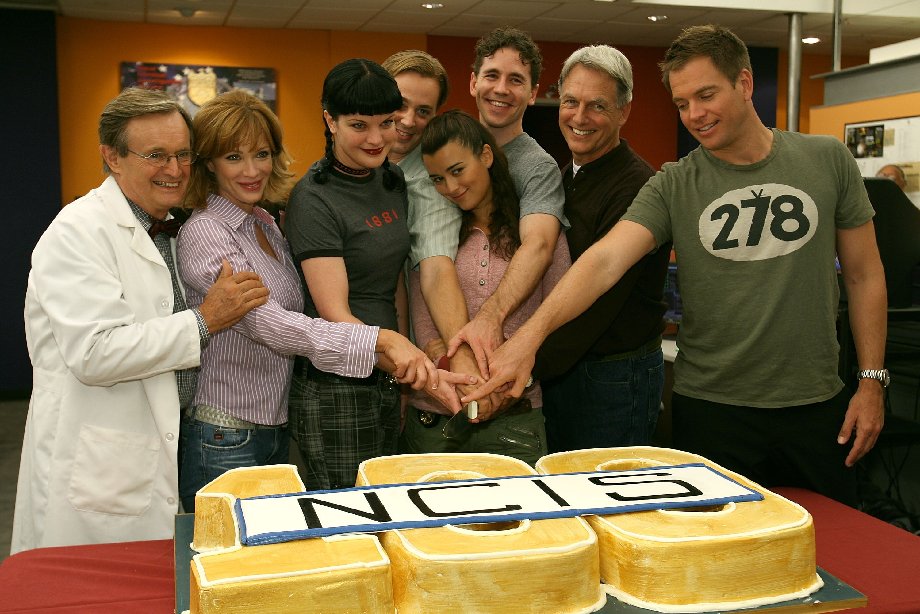 NCIS cast in 2007