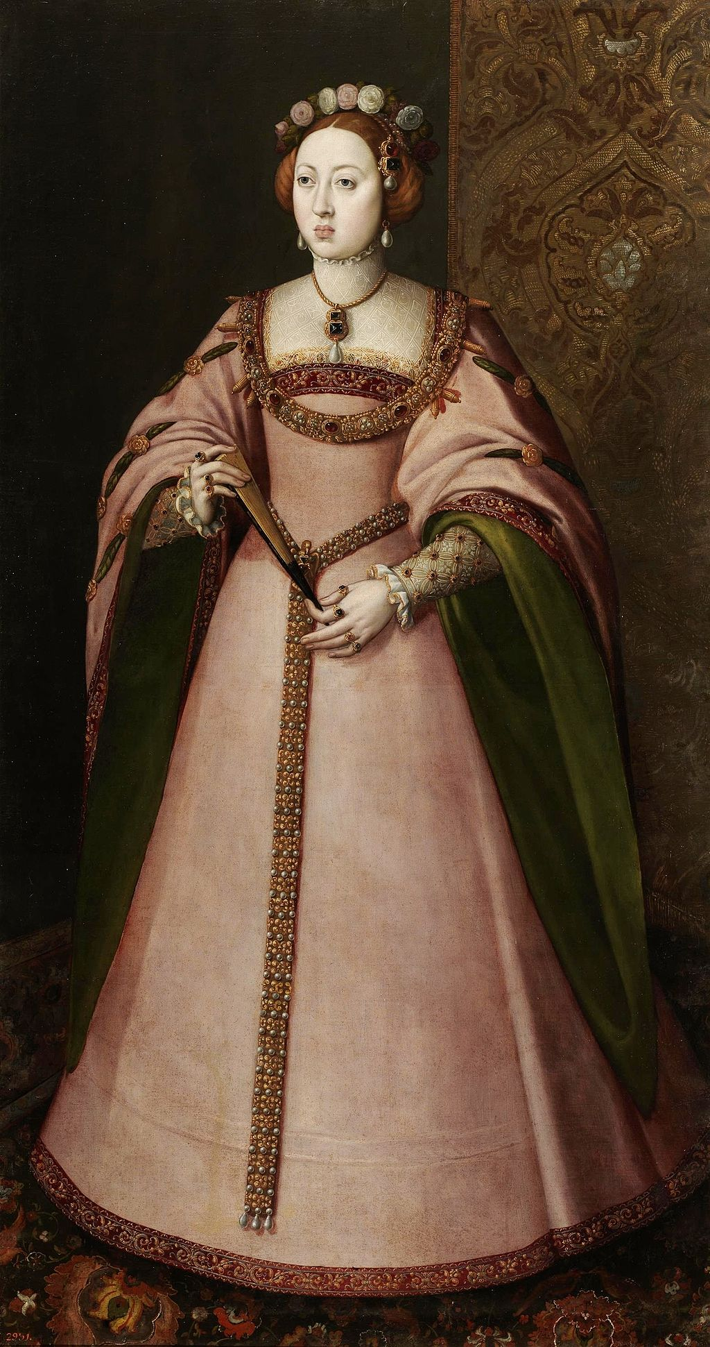 Portrait of Maria the mad