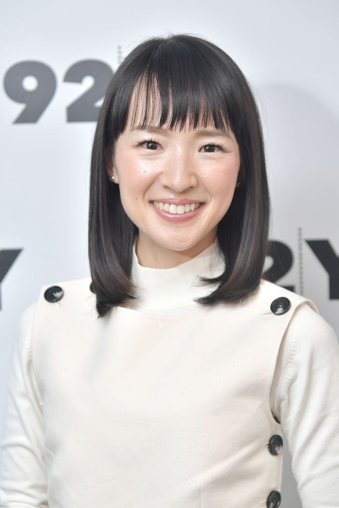 """Marie Kondo poses before taking part in Netflix's """"Tidying Up With Marie Kondo"""" screening and conversation at 92nd Street Y on January 08, 2019 in New York City."""