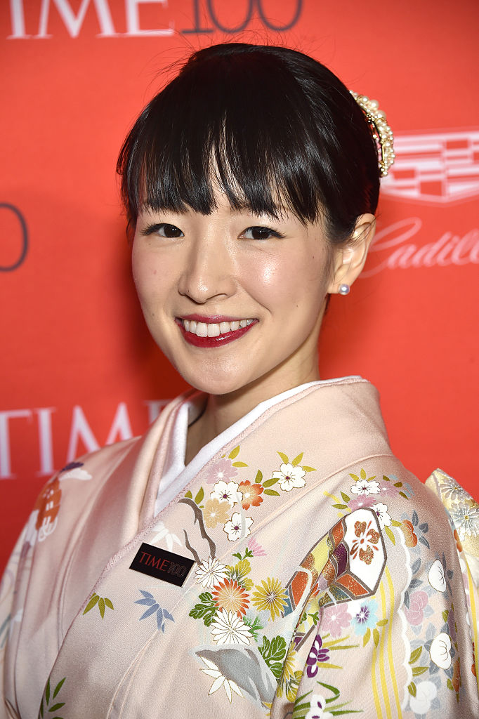 Marie Kondo attends 2016 Time 100 Gala, Time's Most Influential People In The World - Cocktails at Jazz At Lincoln Center at the Times Warner Center on April 26, 2016 in New York City.