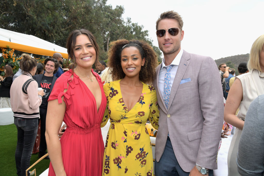 Mandy Moore, Melanie Liburd, Justin Hartley from This is Us