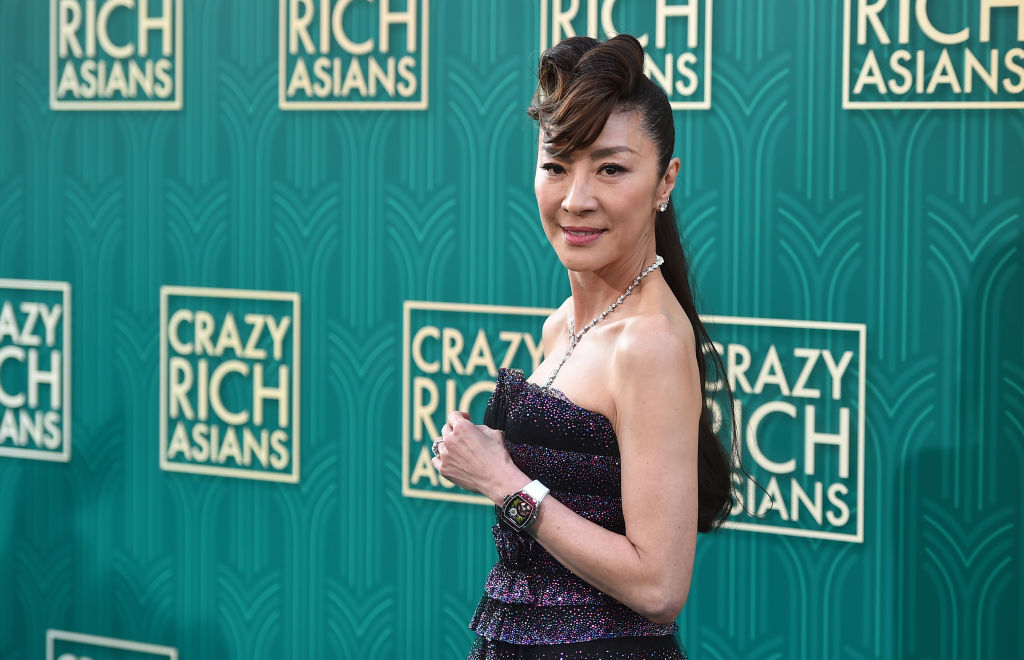 Michelle Yeoh starred in Crazy Rich Asians, and she's getting her own Star Trek spinoff show.