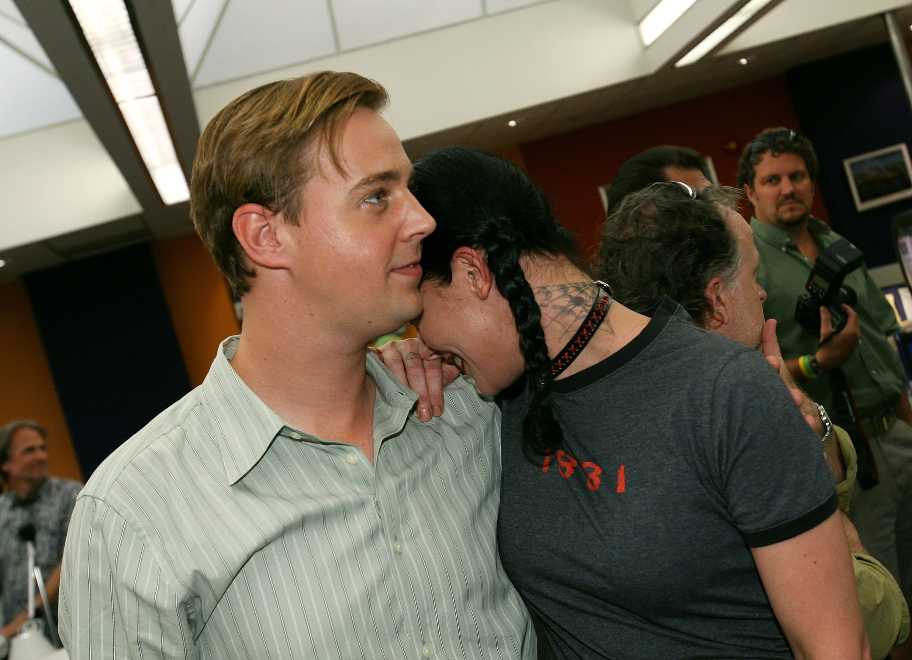 Sean Murray NCIS 100th episode with Pauley Perrette