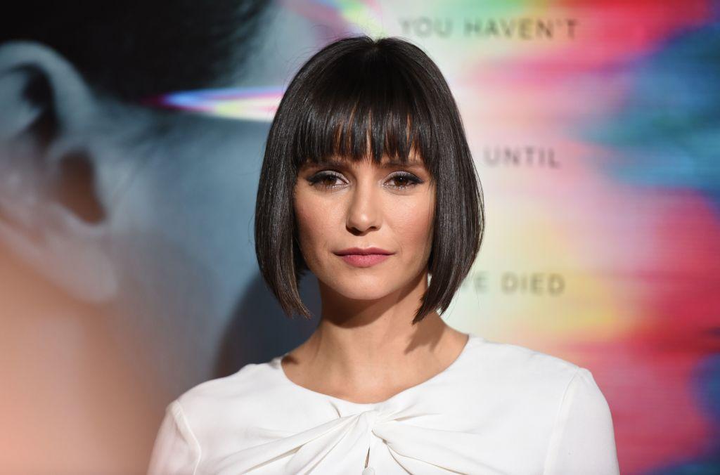 Nina Dobrev at the Flatliners premiere in 2017