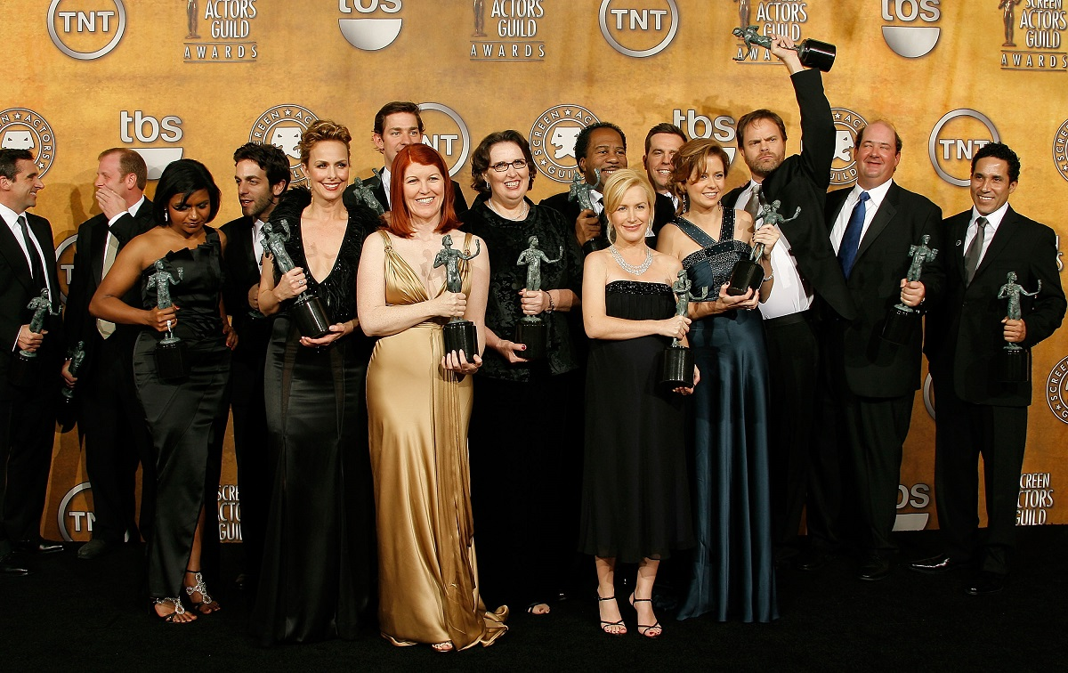 The cast of The Office in 2008