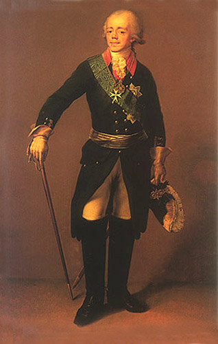 Portrait of Paul I of Russia