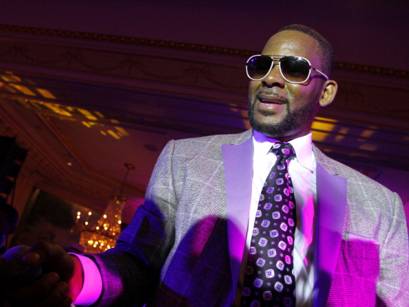 R. Kelly performs at at Arise Made In Africa Spring 2012 Designer Collective at Mercedes Benz NY Fashion Week Afterparty at Jumeirah Essex House on September 15, 2011 in New York City.