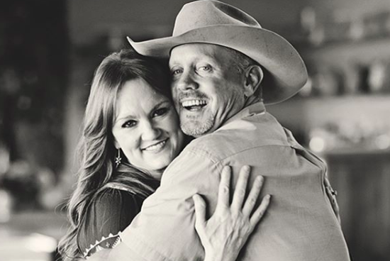 Ree Drummond with her husband Ladd