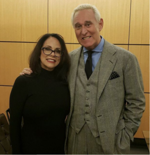 Roger Stone and Nydia Betran
