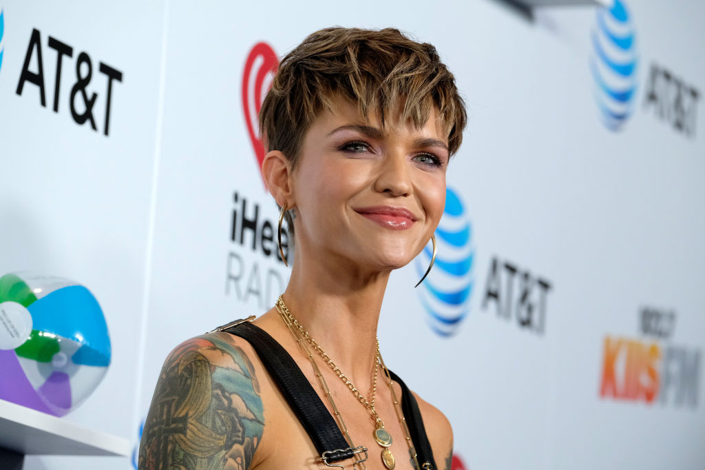 Ruby Rose attends iHeartRadio's KIIS FM Wango Tango by AT&T at Banc of California Stadium on June 2, 2018 in Los Angeles, California.