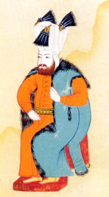 Portrait reproduction of Ibrahim I